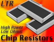 Image of ROHM's LTR Series Resistor